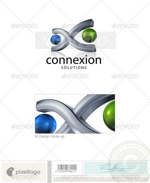 Communication  - 3D746 Logo Design Template Vector #logotype Download it here: http://graphicriver.net/item/communication-logo-3d746/526570?s_rank=1689?ref=nesto