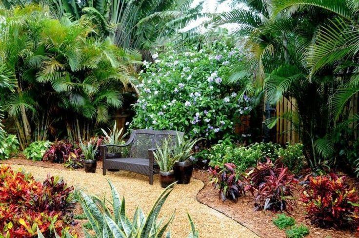 Photo of Fantastic Tropical Garden Landscaping Ideas 39 #noisepiercing Fant …
