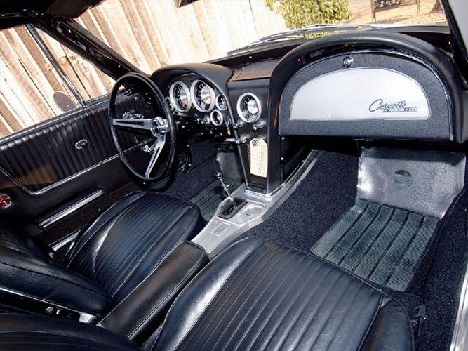 1963 Z06 Interior View Chevrolet Corvette 1963 Corvette Stingray Chevy Corvette Z06