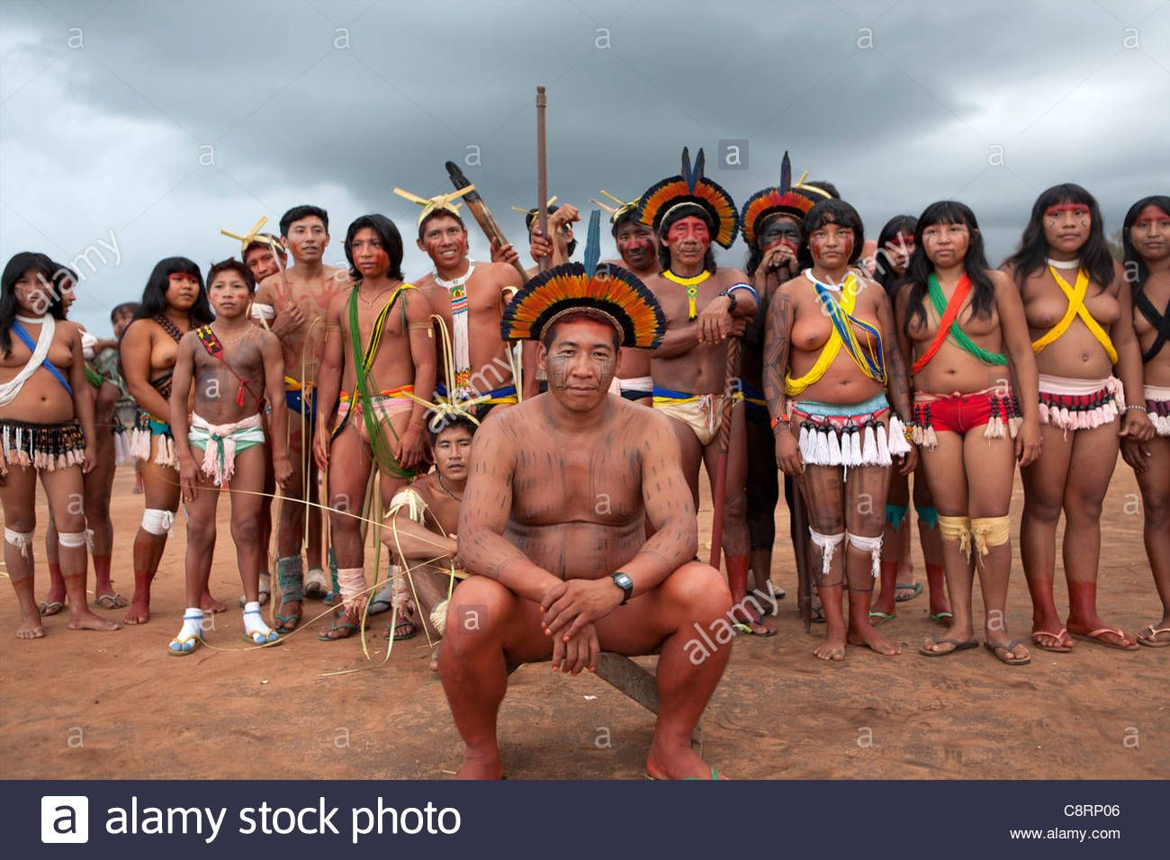 Image Result For Xingu Tribe