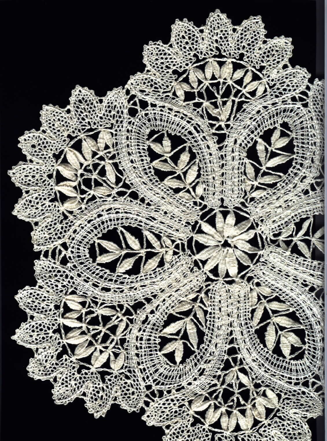 Russian Lace Crochet Scarf Diagram Auto Wiring Tester This Is Idrija Created In Slovenia It Was An