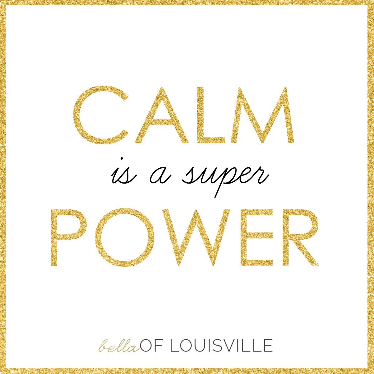 Calm is a super power! Super power quotes, Harsh words