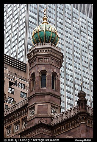 Central Synagogue dome - NYC, New York.