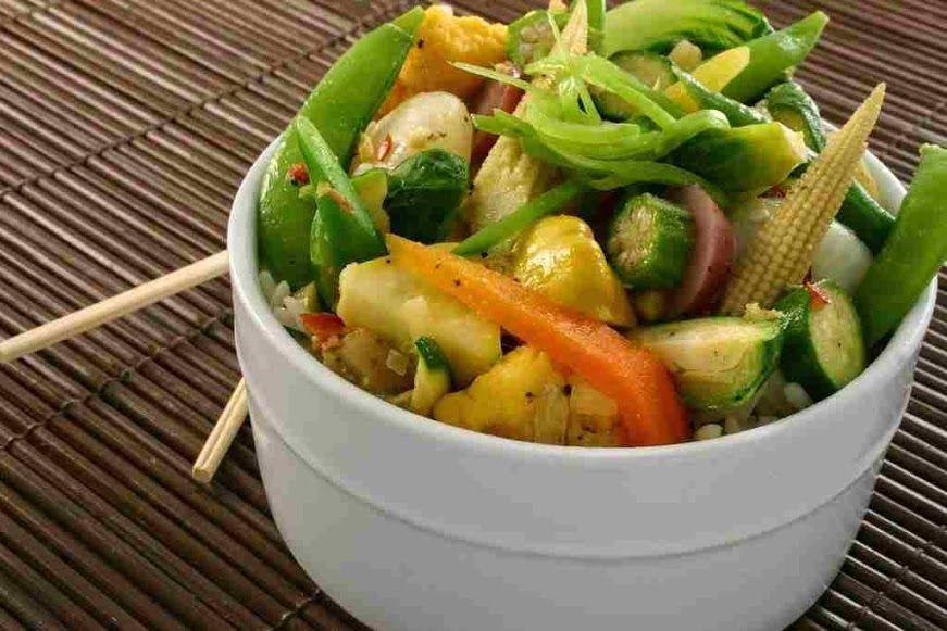 Verduras al vapor Recetas de cocina sana y ligera  En la