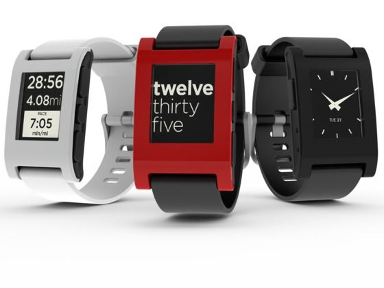 watch that syncs w/ your smartphone.  get messages, email, use GPS, play music right from your watch