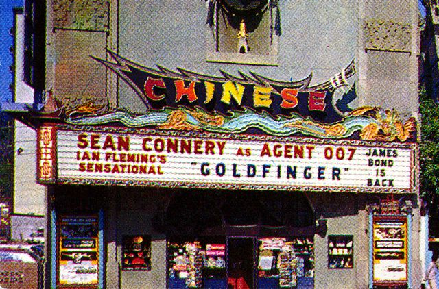 Grauman's Chinese Theatre Detail From Postcard by Neato Coolville, via Flickr