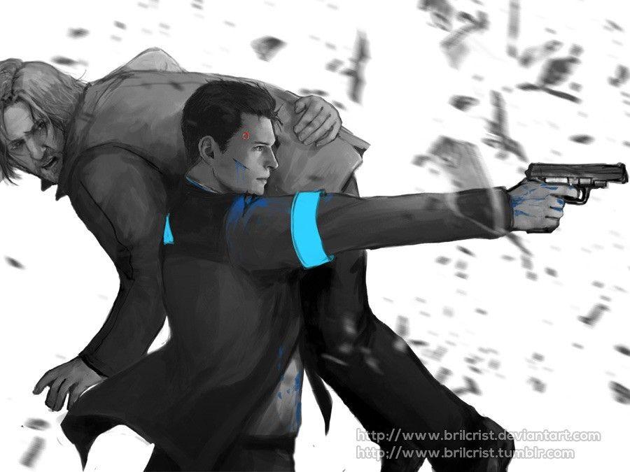DBH] Hank and Connor || Lieutenant Hank Anderson || Connor