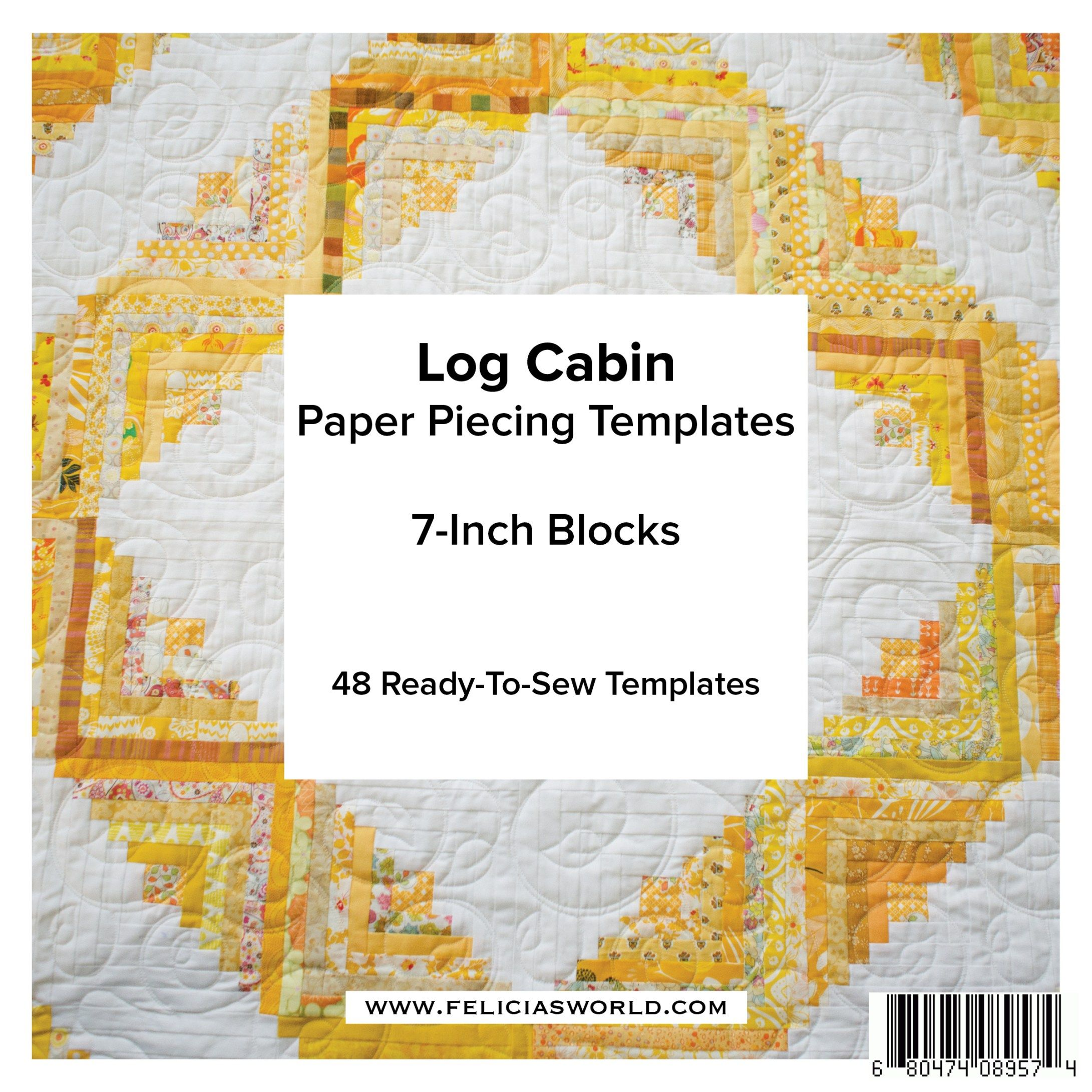 Log Cabin Foundations 7 Inch Tips and Tricks Pinterest