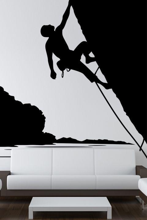 Rock Climbing Wall Decals Walltat Com Art Without Boundaries