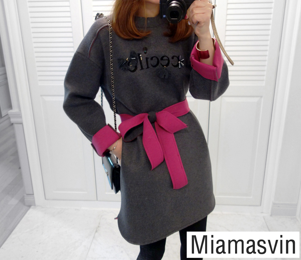 Embellished Cecile Sweater Dress -- $ 56.20 ($ 3.00 discount) #dress #koreanfashion #discount #winter #fashion #style
