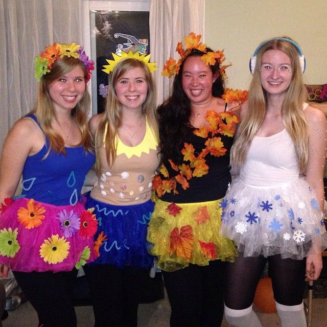 Diy Seasons Costume Spring Summer Fall And Winter