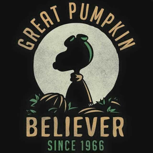 It's The Great Pumpkin Charlie Brown Quotes Great Pumpkin Believer Halloween Images  Pinterest  Halloween .
