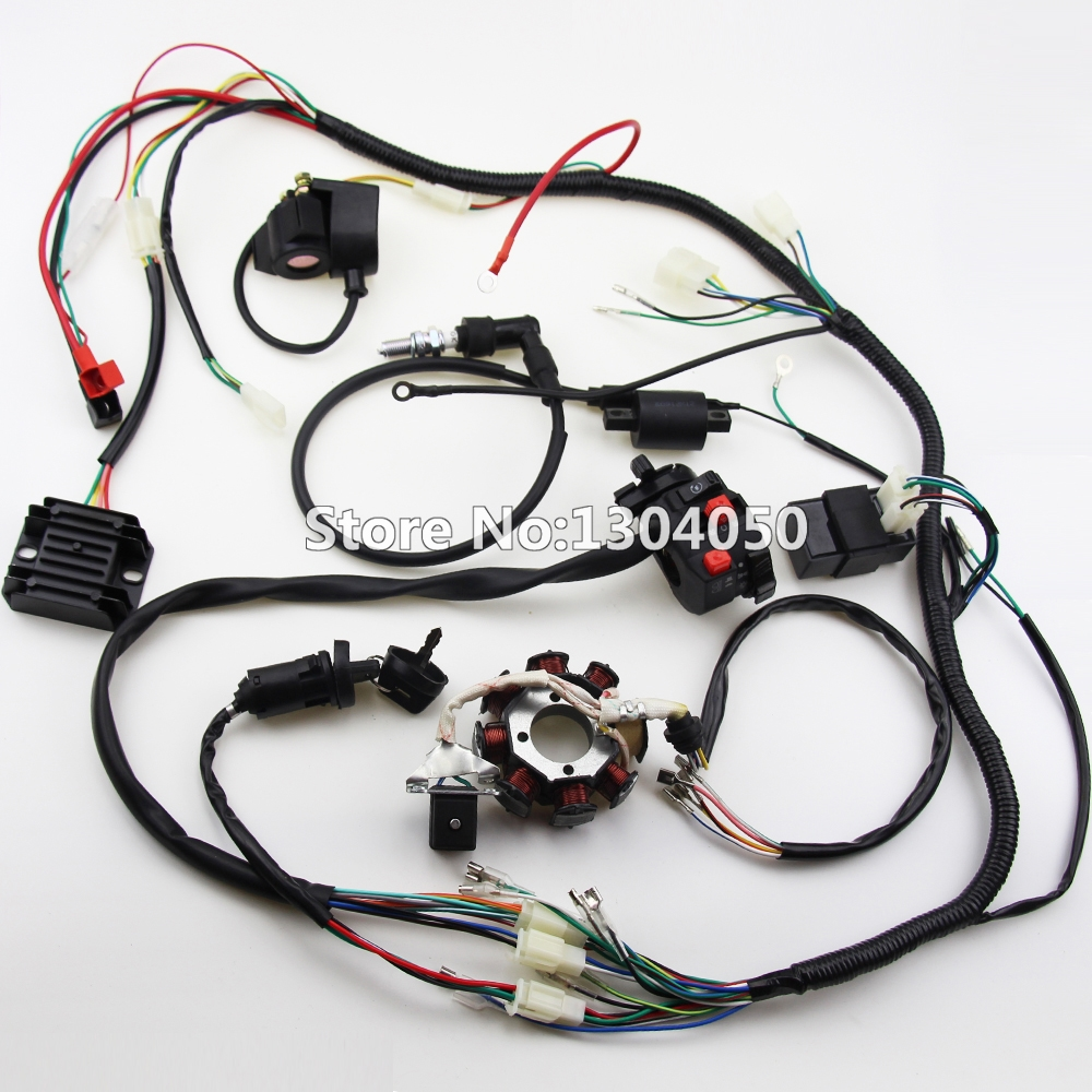 250cc Wiring Harness Electrical Diagrams Kandi Wire Assembly Trailer