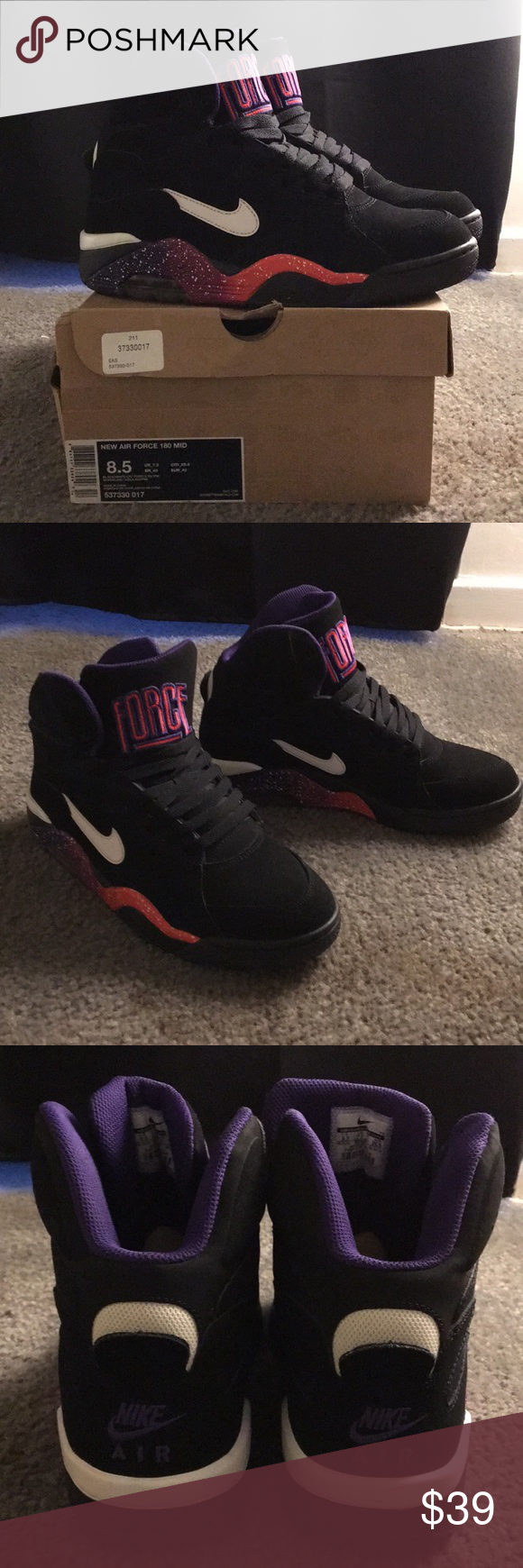 "Nike Air Force 180 Mid ""Phoenix Suns"" size 8.5us Nike Air"