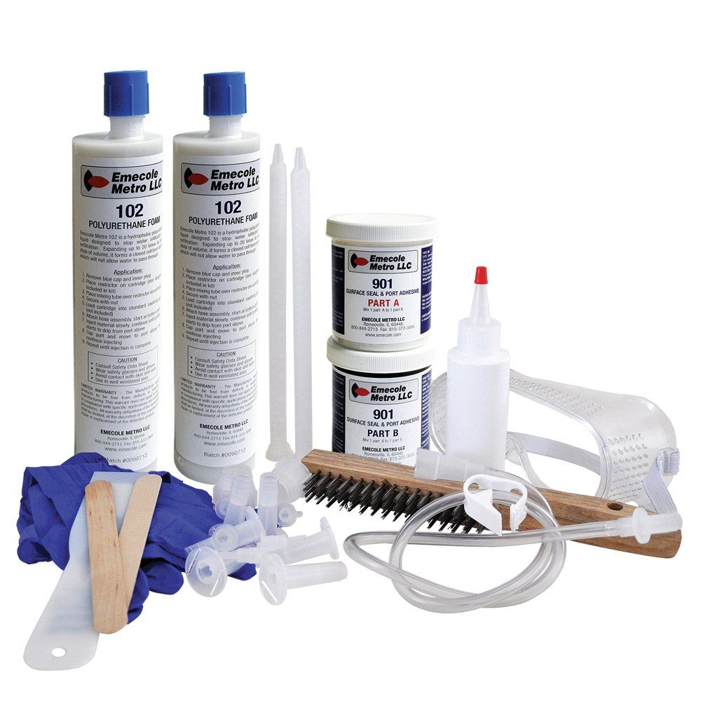 Luxury Basement Crack Repair Kit Home Depot