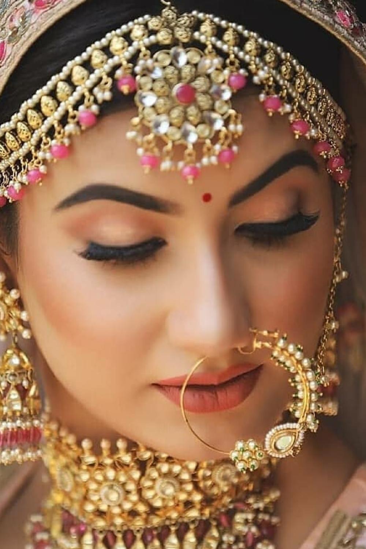 Makeup Artists In Jammu In 2020 Indian Bride Makeup Bridal Makeup Looks Bridal Makeup Images