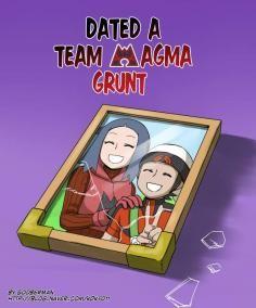 Magma girl team grunt Dating a
