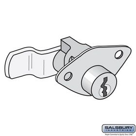 Salsbury Industries 2290 Lock - Standard Replacement - for Aluminum Mailbox - with (2) Keys