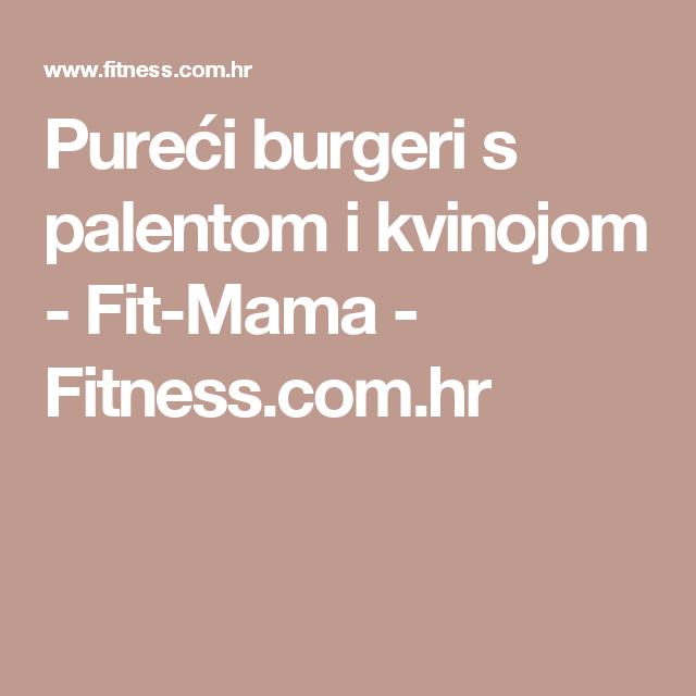 Pureći burgeri s palentom i kvinojom - Fit-Mama - Fitness.com.hr