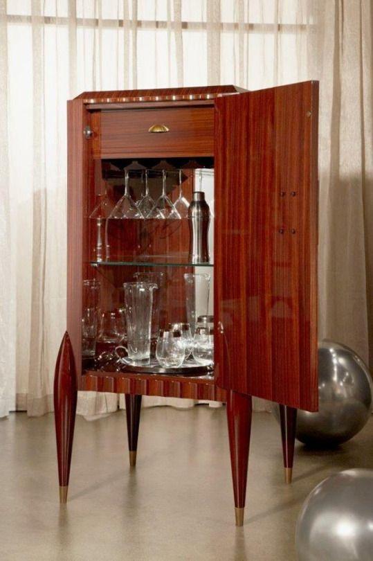 Elegant Serge De Troyer Furniture. Bar Cabinet Creativity.