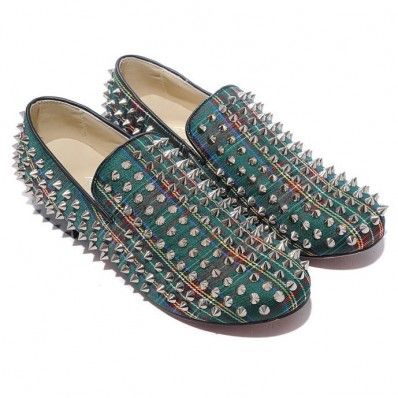 louboutin Loafer Green