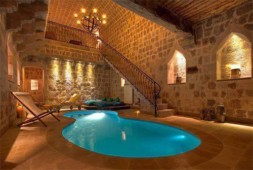 Pin By At Social Media On Indoor Pools Indoor Pool Design Small Indoor Pool Indoor Pool