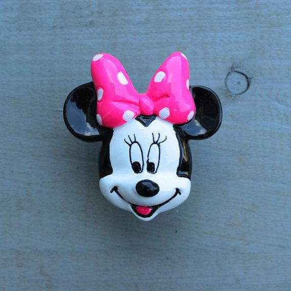 Minnie Mouse Drawer Knobs Cabinet Pull By Darosa 4 50