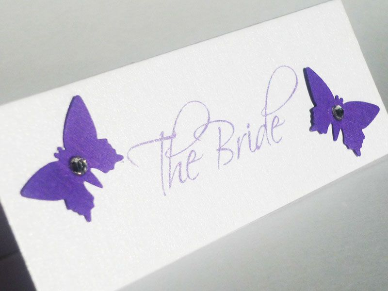 Potential place cards, do they have to match the invites :-/ ?