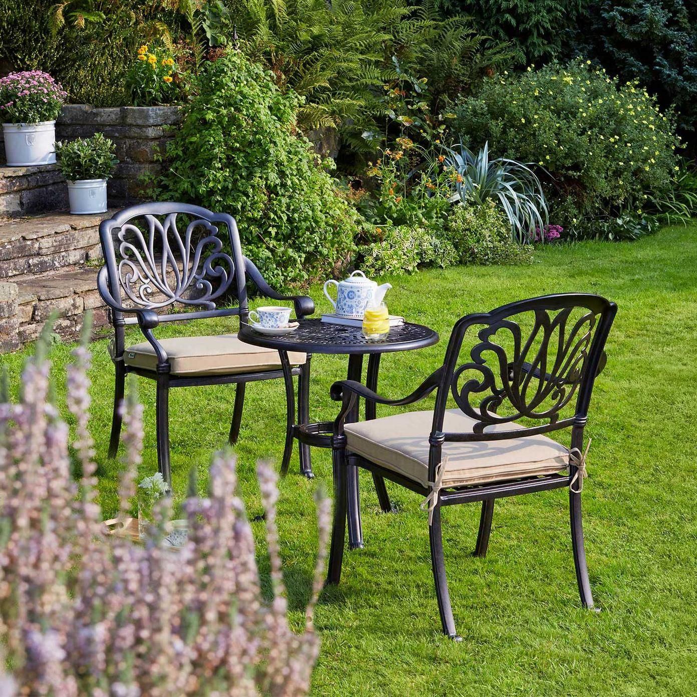 Mortimer Bistro Garden Furniture Set Wyevale Garden Centres