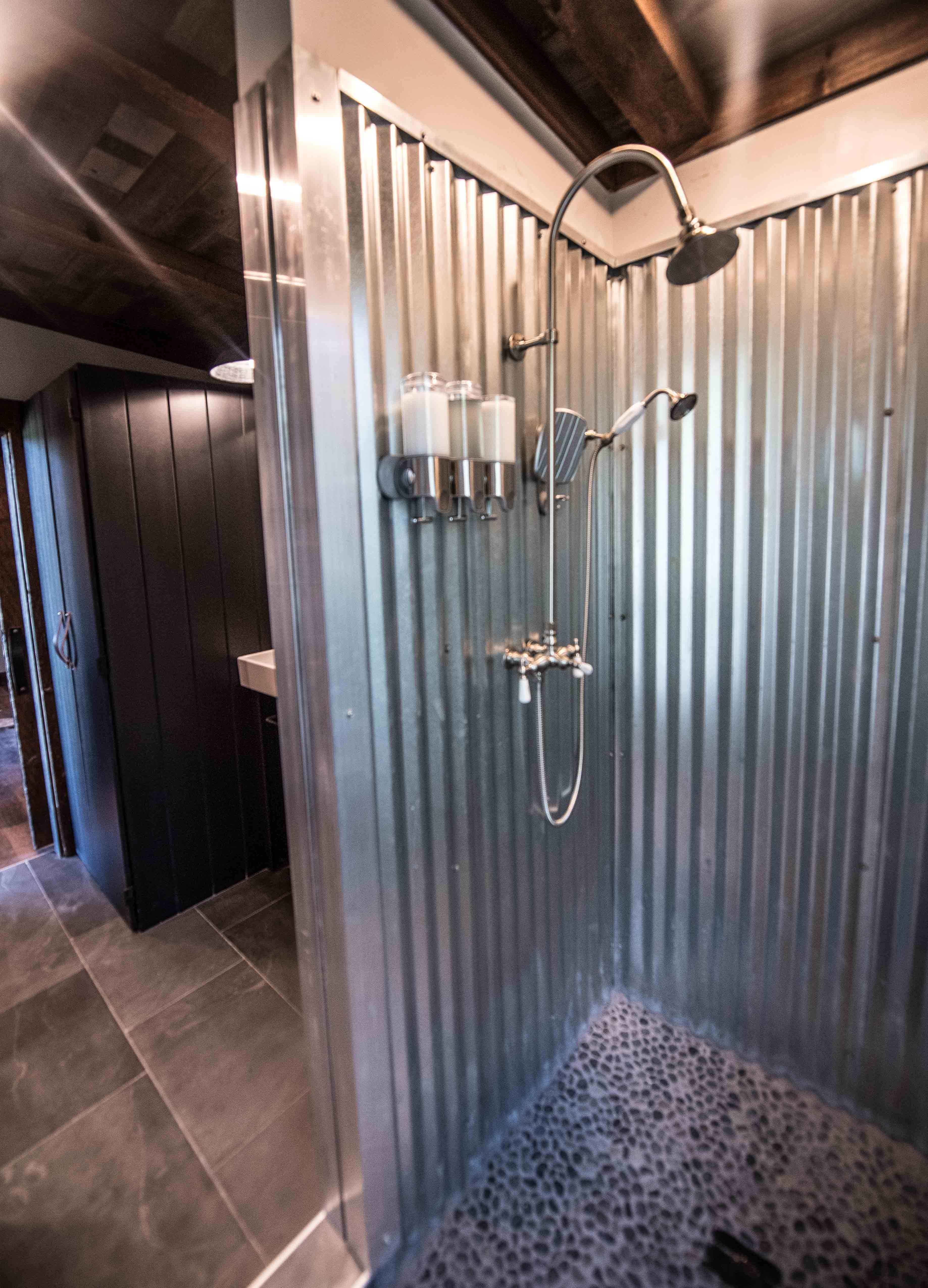 Jump Shack Steel Or Galvanized Metal Shower Nomadic