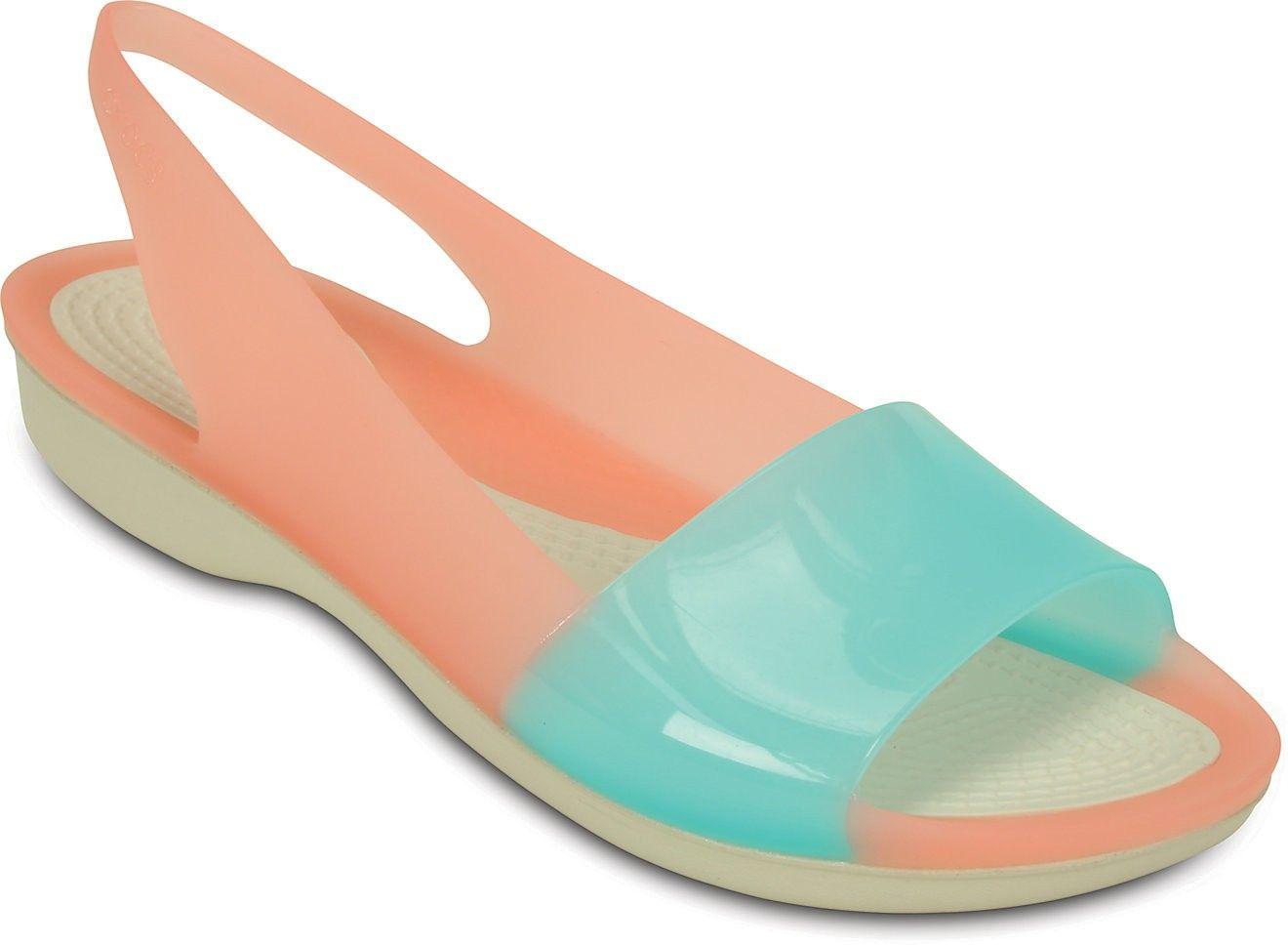 0132c726c88cf Crocs Women Black Flats - Buy Melon, Pool Color Crocs Women Black Flats  Online at Best Price - Shop Online for Footwears in India |…