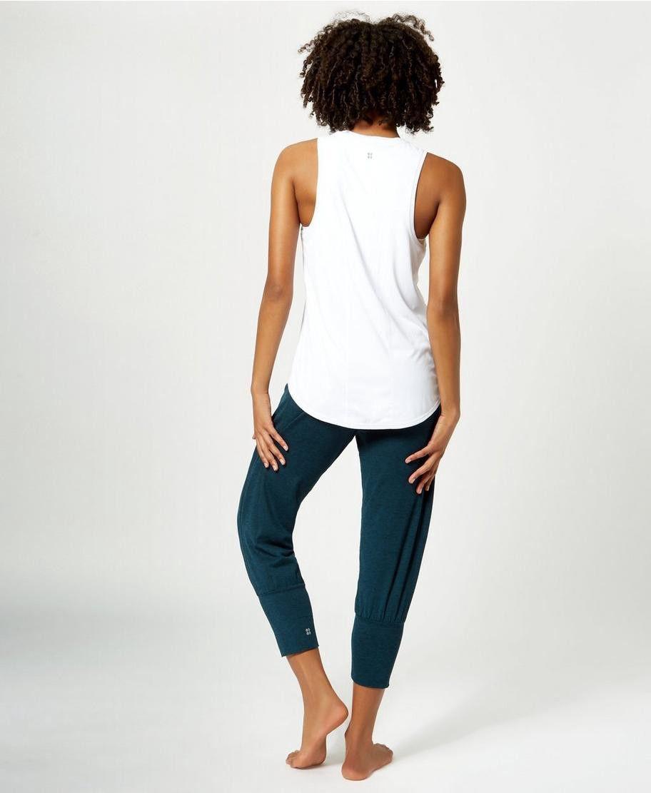 b9515bce5a Sweaty Betty Garudasana Yoga Capris - Black Marl Xxs Blue | Products ...
