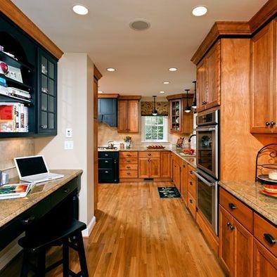 Traditional Kitchen Oak Design, Pictures, Remodel, Decor ...