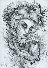 Tattoo sketch Mother Nature