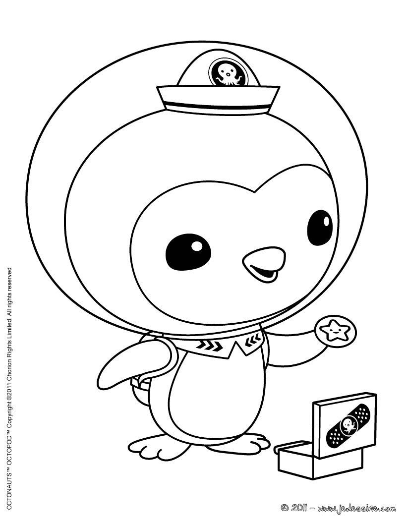 octonauts colouring pictures coloring pages