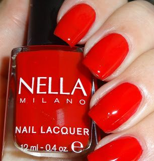 Wendy's Delights: Nella Milano Nail Lacquer Scarlet Heat 20% discount code use 'wendyspecial' at checkout @Nella_Milano