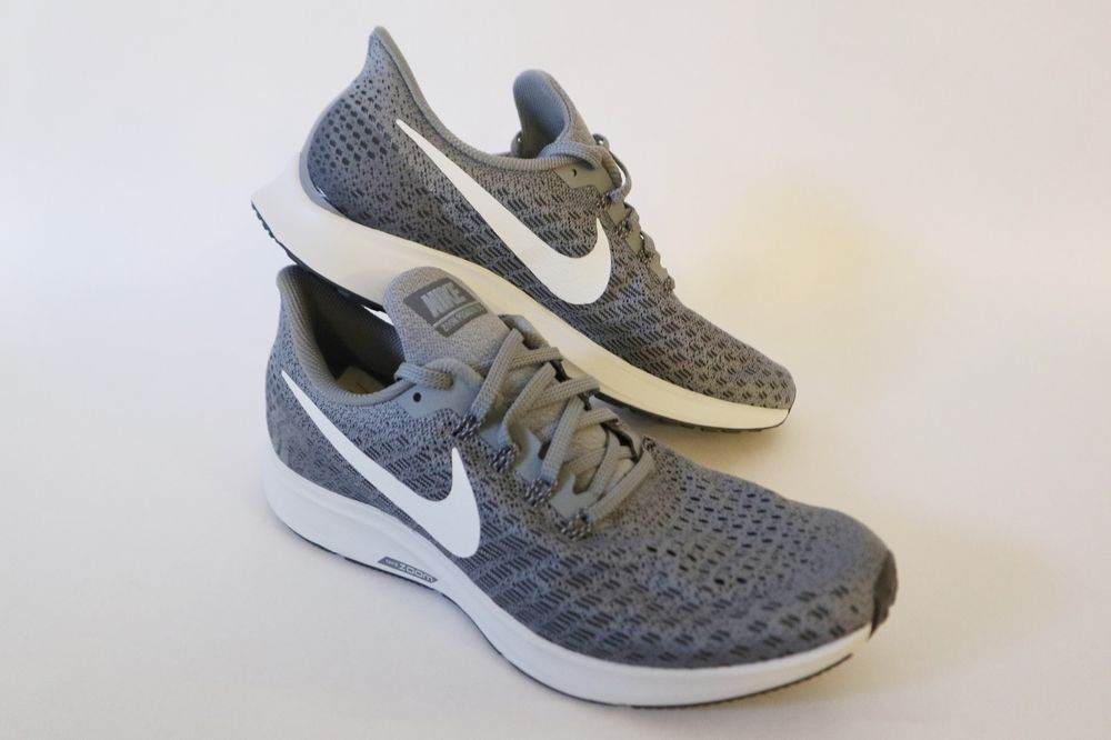 bf81bd6b091fb Nike Air Zoom Pegasus 35 Cool Grey White Men Running Shoes Sneakers ...