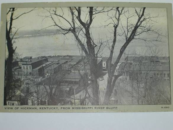 View Of Hickman Ky From Mississippi River Bluff Mississippi River Historical Place River