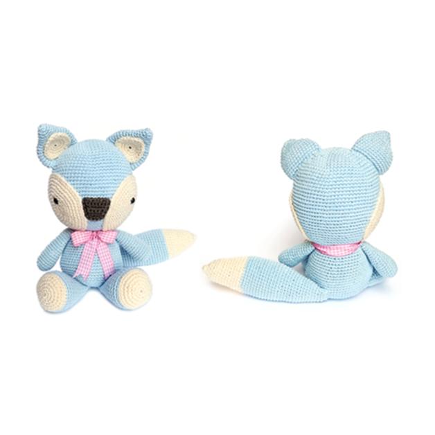 FOX Crochet Pattern | Amigurumis patrones gratis, Patrón gratis y ...