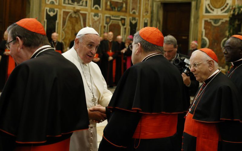 It follows recent reports that 30 cardinals, having read a draft of Amoris Laetitia, warned that it could undermine the sacraments of marriage, Confession and the Eucharist.