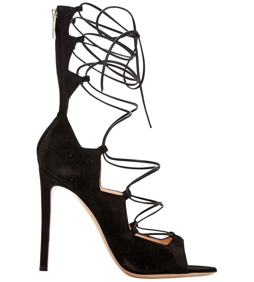 b9f92c599cec GIANVITO ROSSI-Frantic Suede Lace Up Bootie info email ashlee justoneeye.com