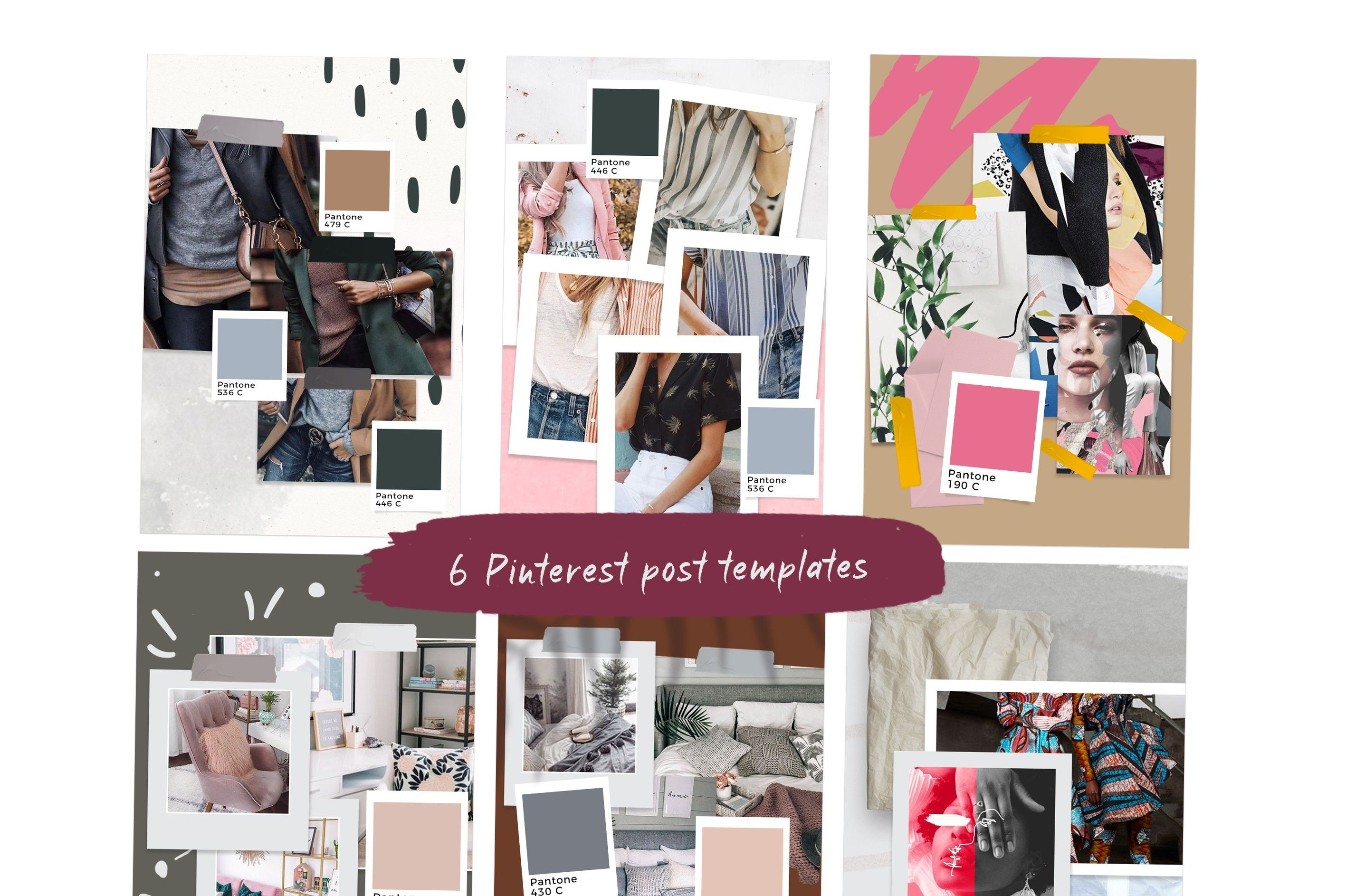 Download Animated Mood Boards Instagram Post Template Instagram Story Template Mood Board Template
