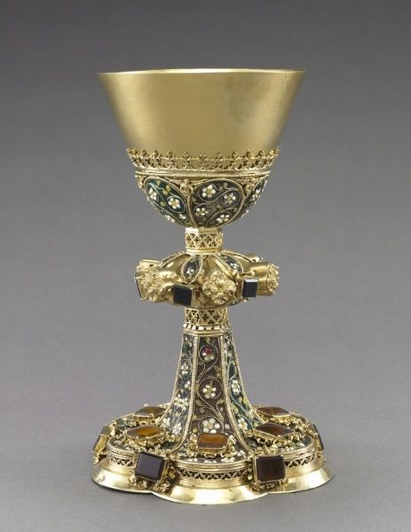Chalice | Cleveland Museum of Art 15th century,Budapest Silver and feligree…