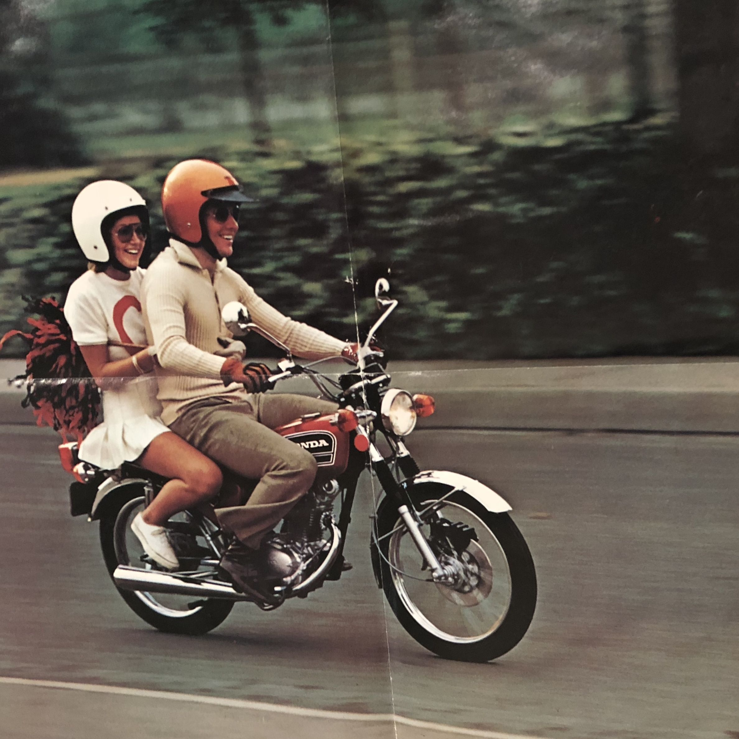 From 1974 Honda Cb125 Brochure