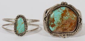 Non-Native Timberline Turquoise Stone Lot - 10 Stones - : Lot 1464