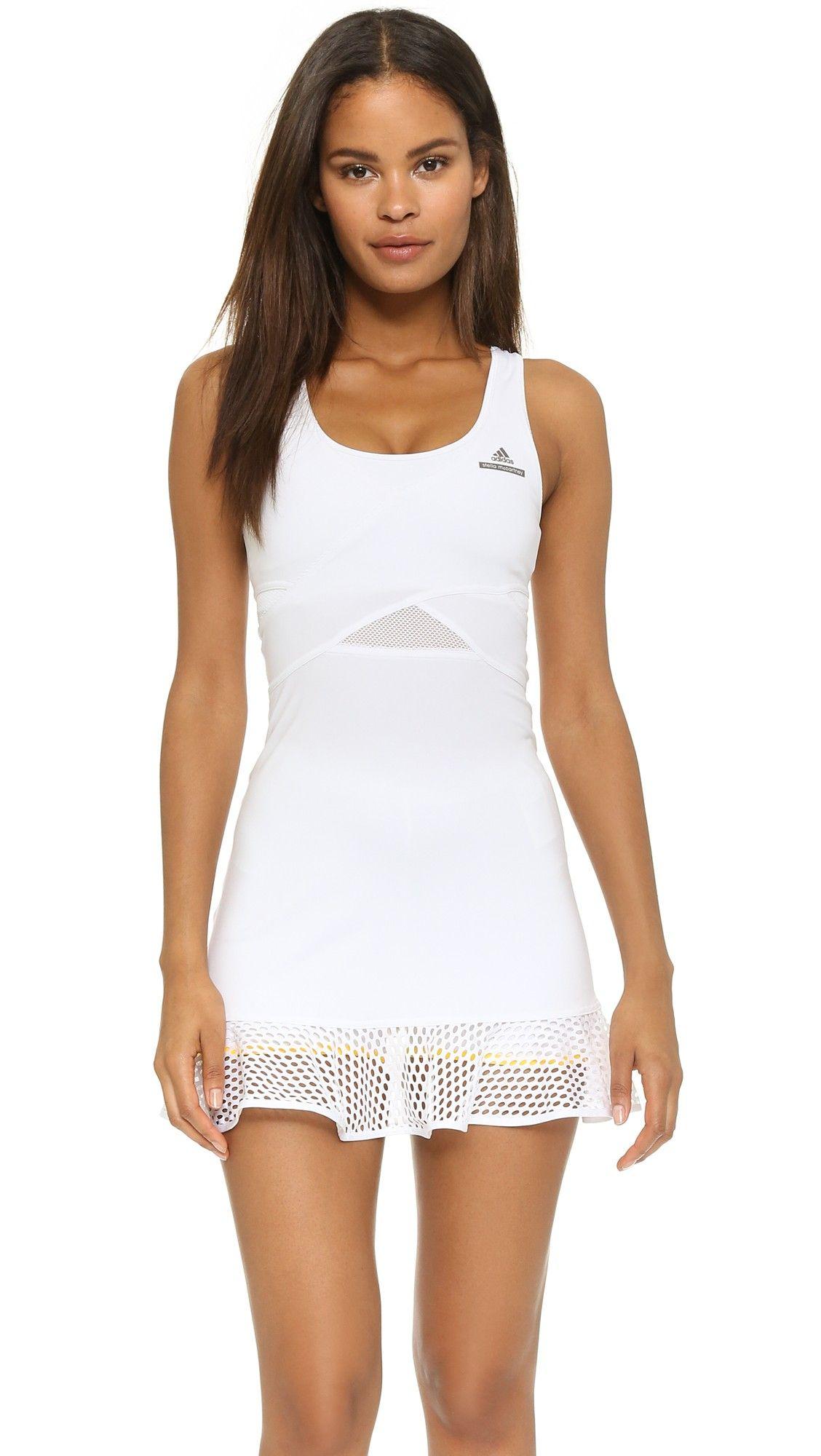 Adidas By Stella Mccartney Stella Tennis Dress Shopbop Tennis Outfit Women Tennis Dress Tennis Clothes [ 2000 x 1128 Pixel ]