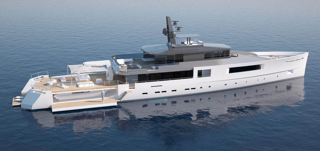 Expedition yacht concept by vitruvius yachts