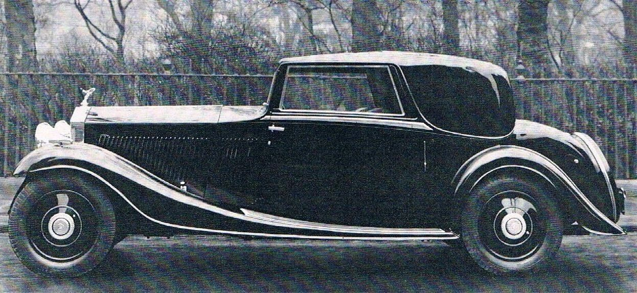 1934 Two-door Saloon by Gurney Nutting (chassis GYD55)