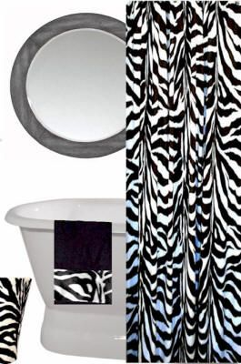 AnythingAnimals Animal Themed Shower Curtains Print Zebra