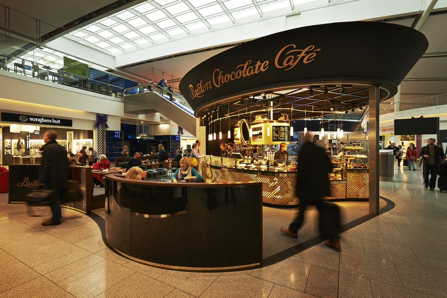 Butlers newest Chocolate Café at Terminal 2, Dublin Airport ...